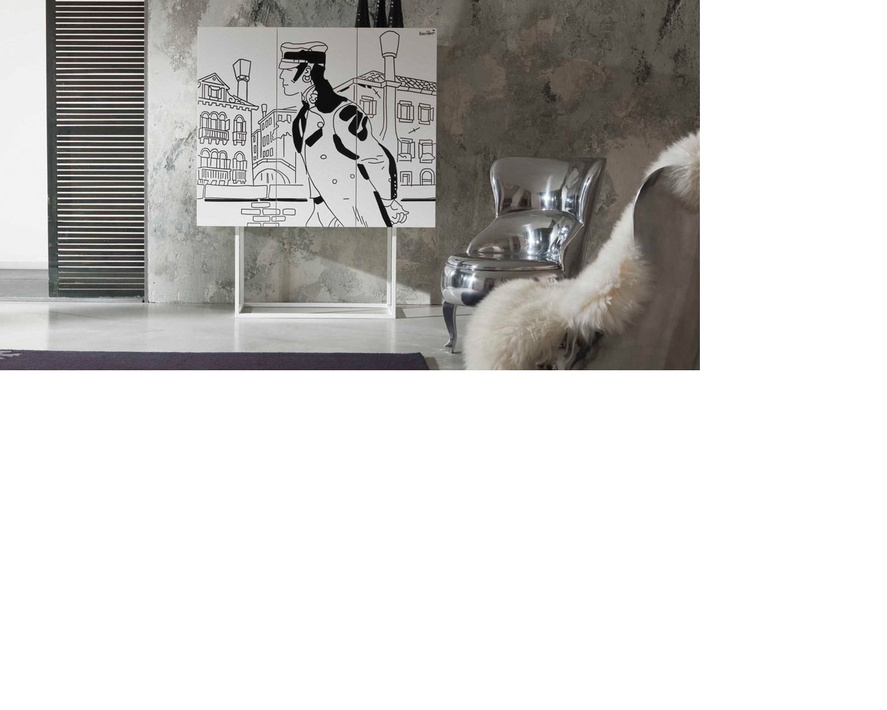 Corto Maltese Mobili Firmati Hugo Pratt : Filippozzi arredamenti news archive