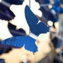 Ecodesign: il lampadario di farfalle