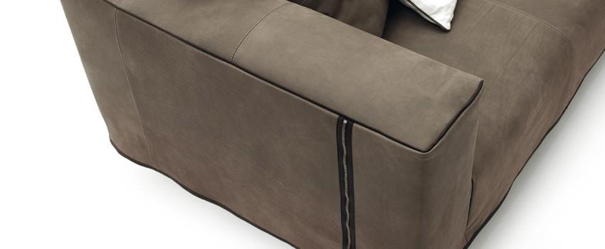 Zerocento Zip: il nuovo divano per il vivere moderno